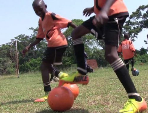 Zdena Klesnil training in Uganda